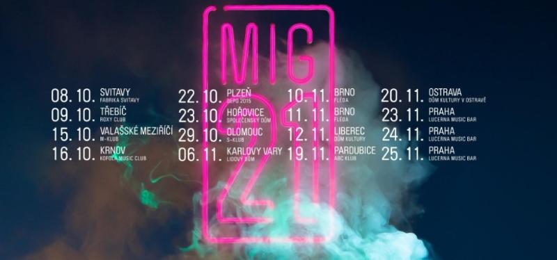 MIG 21 turné 2021